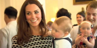 Kate Middleton abito Tory Burch principe George salopette Rachel Riley 2
