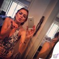 Lindsay Lohan costume Wild Fox Couture bracciali Netali Nissim Smoky Eye