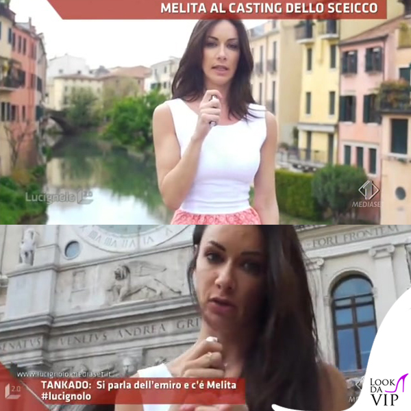 Melita Toniolo Lucignolo abito Gaelle Bonheur Paris scarpe Regina Shoes 3