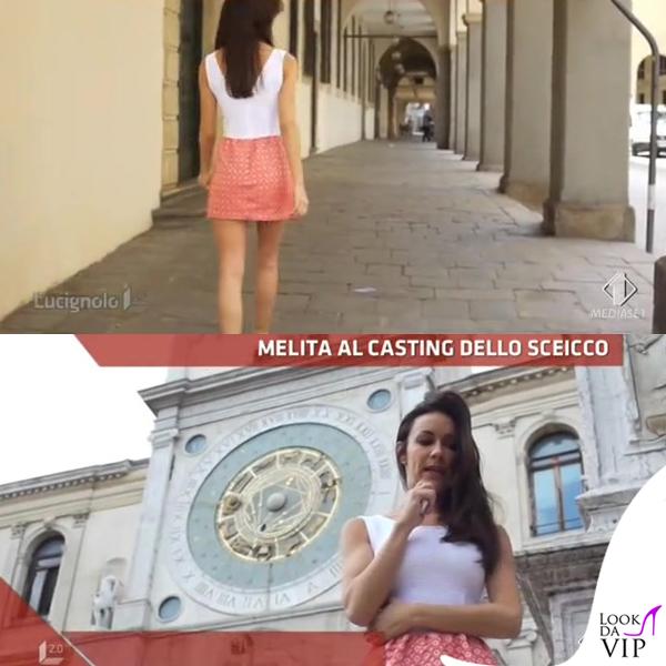 Melita Toniolo Lucignolo abito Gaelle Bonheur Paris scarpe Regina Shoes 4