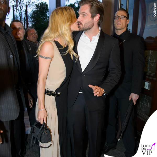 Michelle Hunziker Tomaso Trussardi Vienna Awards for Fashion and Lifestyle total total Trussardi