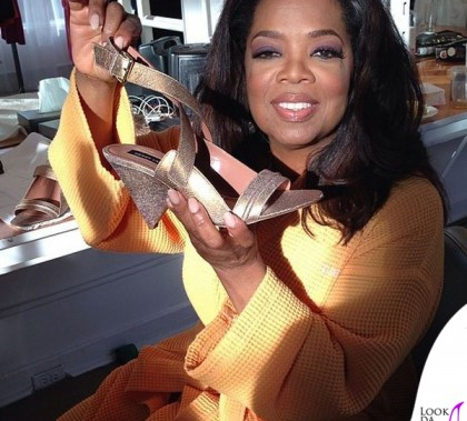 Oprah Winfrey scarpe Derek Lam