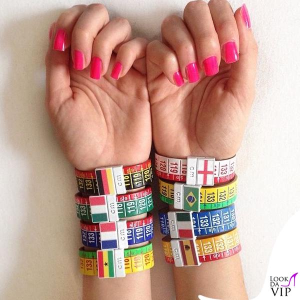 Valentina Vignali braccialetti IlCentimetro
