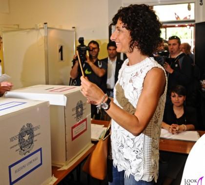 Agnese Landini Renzi Pontassieve top Ermanno Scervino