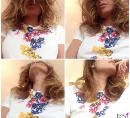 Alena Seredova tshirt Pinko