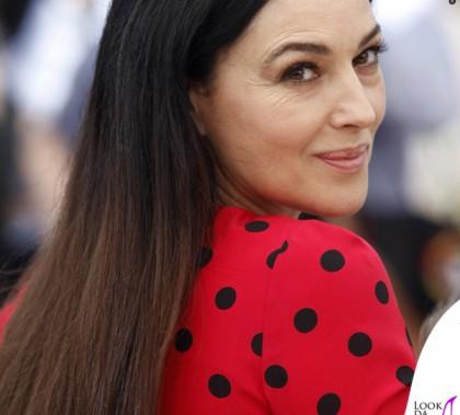 Cannes Film Festival 2014 Monica Bellucci abito Dolce&Gabbana scarpe Christian Louboutin orecchini Dolce&Gabbana