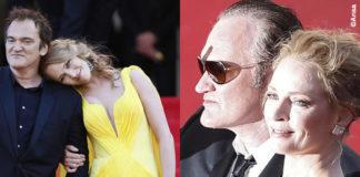 Cannes Film Festival 2014 Quentin Tarantino Uma Thurman gioielli Chopard