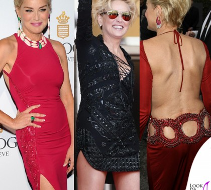 Cannes Film Festival 2014 Sharon Stone look