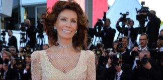 Cannes Film Festival 2014 Sophia Loren abito Armani Prive