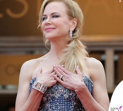 Cannes Film Festival Nicole Kidman abito Armani gioielli Harry Winston