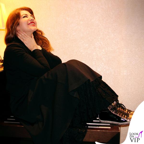 Cristina D'Avena scarpe My Heart Shoes collana Valentino 2