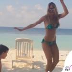 Elena Santarelli bikini Flavia Padovan 5
