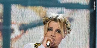Emma Marrone Eurovision Song Contest abito Stefano De Lellis corona Galerie Lerique