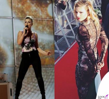 Emma Marrone Eurovision Song Contest body Berna abito Scognamiglio