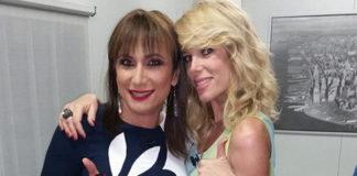 Grande Fratello Vladimir Luxuria abito Gai Mattiolo sandali Loriblu Alessia Marcuzzi total Versace