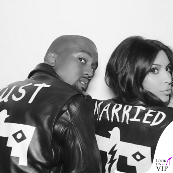 Kim Kardashian Kanye West matrimonio 2