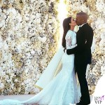 Kim Kardashian Kanye West matrimonio Firenze Forte Belvedere abiti Givenchy