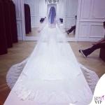 Kim Kardashian matrimonio abito Givenchy