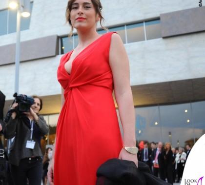 Maria Elena Boschi Galà Maggio Musicale Fiorentino abito rosso
