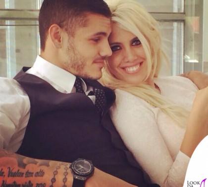 Matrimonio Icardi Wanda Nara abito Alexander McQueen borsa Chanel Mauro Icardi total Dolce&Gabbana