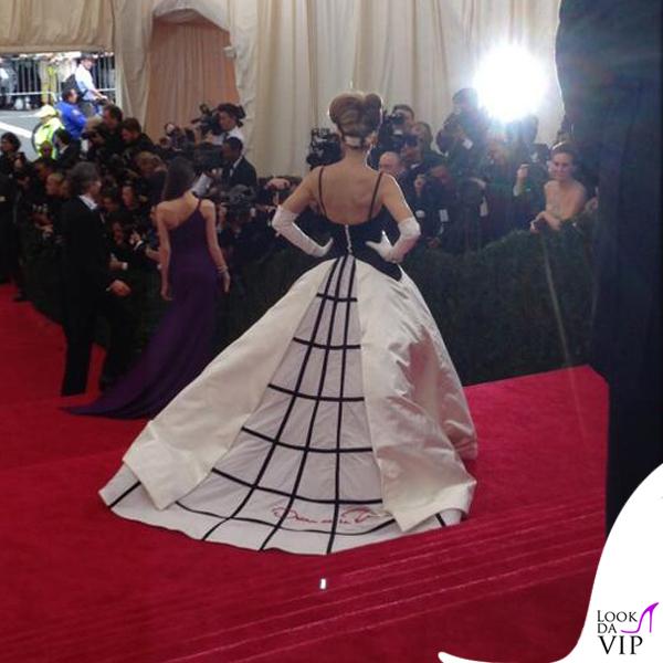 Sarah Jessica Parker Met Gala 2014 abito Oscar de la Renta 2