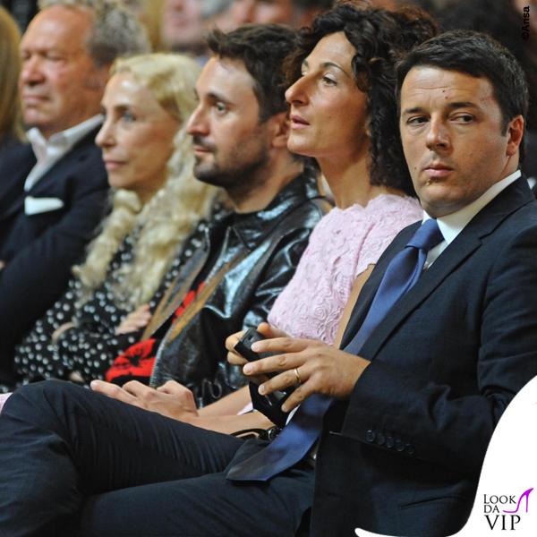 Agnese Landini Renzi inaugurazione Pitti Immagine Uomo Firenze 4
