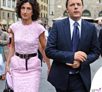 Agnese Landini Renzi inaugurazione Pitti Immagine Uomo Firenze