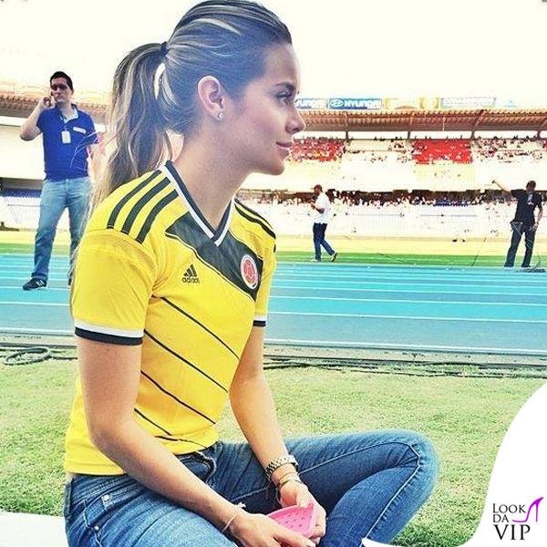 Alejandra Buitrago Adidas maglie ufficiali Nazionale Colombia 2