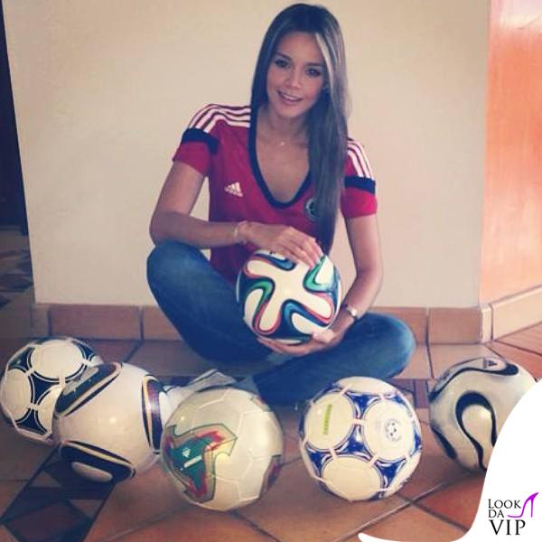 Alejandra Buitrago Adidas maglie ufficiali Nazionale Colombia 3