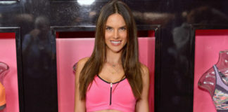 Alessandra Ambrosio total look VS Sport Victoria's Secret sneakers Ash Bowie