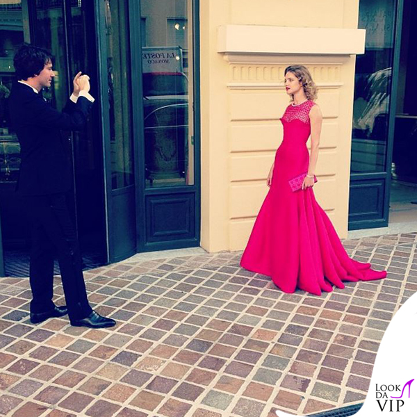 Antoine Arnault Natalia Vodianova abito Christian Dior