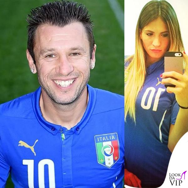 Antonio Cassano Carolina Marcialis Puma maglia ufficiale Nazionale Italiana Mondiali 2014
