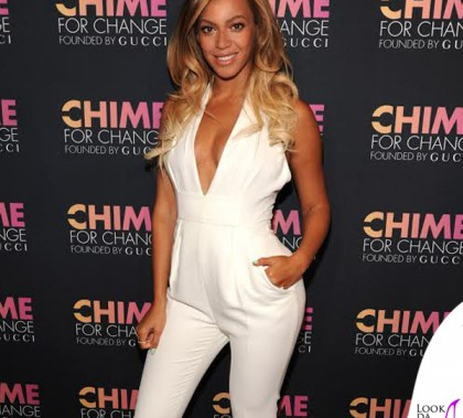 Beyoncé Chime for Change total look Gucci