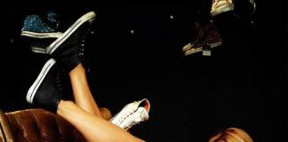 Federica Fontana sneakers Black Dioniso