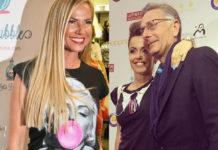 Federica Panicucci tshirt Let's Bubble Sonia Bruganelli Paolo Bonolis tshirt Sdl2005