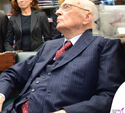 Giorgio Napolitano visita Marinella Napoli 2