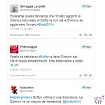 Ilaria D'Amico Gigi Buffon tweet