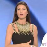 Ilaria D'Amico Sky abito Versace Collection 3