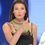 Ilaria D'Amico Sky abito Versace Collection 5