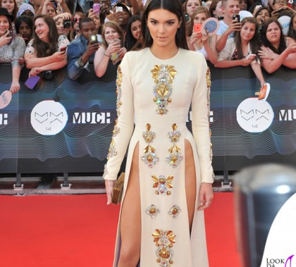Kendall Jenner Muchmusic Video Awards Toronto 2014 abito Fausto Puglisi