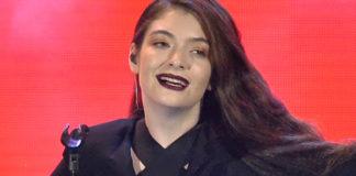Lorde Music Awards 2014 tuta Emporio Armani