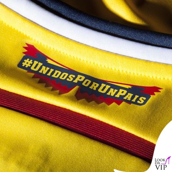 Maglia ufficiale Nazionale Colombia Away #UnidosPorUnPais