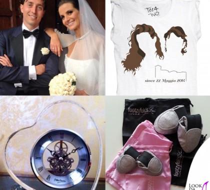 Matrimonio Cristina De Pin Riccardo Montolivo gadget