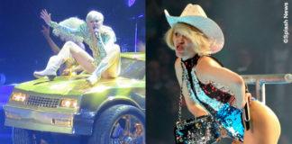 Miley Cyrus Bangerz Tour Milano costumi The Blonds