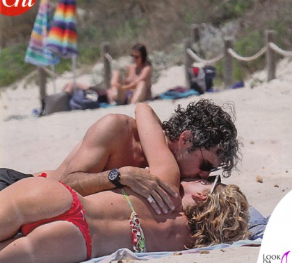 Paolo Calabresi Alessia Marcuzzi Formentera bikini Niki B