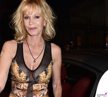 Taormina Film Festival 2014 Melanie Griffith abito Philipp Plein