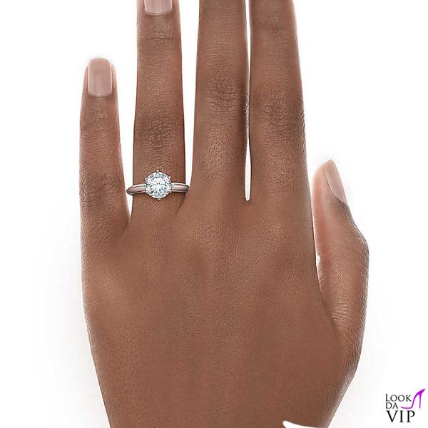 anello Tiffany Setting