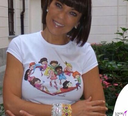 Ana Laura Ribas tshirt pantaloni Fracomina bracciali PianoB Jewels