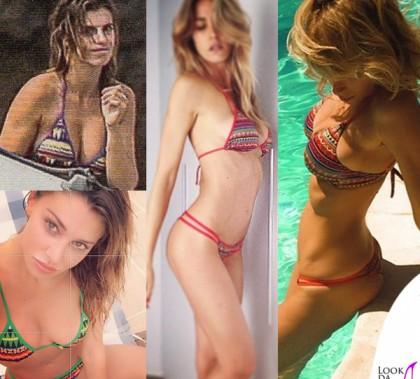Elisabetta Canalis Belen Rodriguez Elena Santarelli Alessia Marcuzzi bikini Me Fui