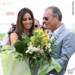 Elisabetta Gregoraci Coppa Sila abito Drome scarpe Christian Louboutin 4